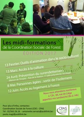 Midi-formations 2017